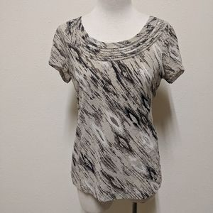 3for$20 Dana buchman blouse top size small